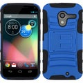 BasAcc Dark Blue/ Black Case with Stand for Motorola Moto X
