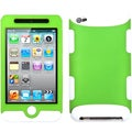BasAcc Dark Green/ White TUFF Hybrid Case for Apple iPod Touch 4
