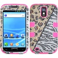 BasAcc Diamante/ Pink TUFF Hybrid Case for Samsung T989 Galaxy S2 S II