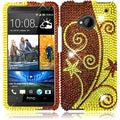 BasAcc Elegant Swirl Diamond Case for HTC One M7
