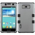 BasAcc Gray/ Black TUFF Case for LG US730/ Splendor/ Venice/ L86c