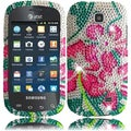 BasAcc Green Lily Diamond Case for Samsung Galaxy Appeal i827