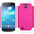 BasAcc Hot Pink/ White TotalDefense Case for Samsung Galaxy S4 Mini