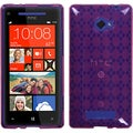 BasAcc Hot Pink/ Argyle Candy Skin Case for HTC Windows Phone 8X