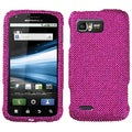 BasAcc Hot Pink/ Diamante Case for Motorola MB865 Atrix 2