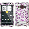 BasAcc Leopard Skin/ Purple Diamante Case for HTC EVO 4G