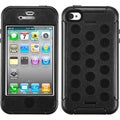 BasAcc Natural Black/ Black TUFF Hybrid Case for Apple� iPhone 4/ 4S