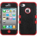BasAcc Natural Black/ Red TUFF Hybrid Case for Apple� iPhone 4/ 4S