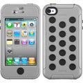BasAcc Natural Gray/ Black TUFF Hybrid Case for Apple� iPhone 4/ 4S