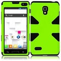 BasAcc Neon Green/ Black Case for LG Optimus L9 P769/ MS769