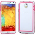 BasAcc Pink/ Clear MyBumper Case for Samsung N900A Galaxy Note 3