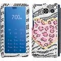 BasAcc Playful Leopard Diamante Case for Sanyo 6780 Innuendo