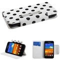 BasAcc Polka Dots/ White MyJacket Case for Samsung Galaxy S2