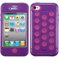 BasAcc Purple/ Hot Pink TUFF Hybrid Case for Apple� iPhone 4/ 4S