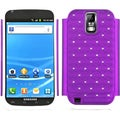 BasAcc Purple/ White TotalDefense Case for Samsung� T989 Galaxy S II