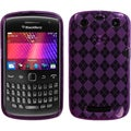 BasAcc Purple Argyle Candy Case for Blackberry Curve 9360/ 9350/ 9370