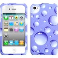 BasAcc Purple Bigger Bubbles Case for Apple� iPhone 4/ 4S