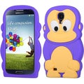 BasAcc Purple Monkey Skin Case for Samsung Galaxy S 4 I337/ L720/ M919