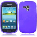 BasAcc Purple Silicone Case for Samsung Galaxy Amp i407