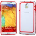 BasAcc Red/ Clear MyBumper Case for Samsung N900A Galaxy Note 3
