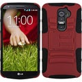 BasAcc Red/ Black Case with Stand for LG D801 Optimus G2/ D800 G2