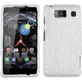 BasAcc Silver Diamante Case for Motorola XT926W Droid Razr HD