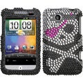 BasAcc Skull Diamante Case for HTC ADR6225 Wildfire