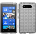 BasAcc Smoke Argyle Candy Skin Case for Nokia 820/ Lumia 820