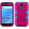BasAcc Solid Hot Pink/ Teal TUFF Case for Samsung T989 Galaxy S II