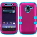 BasAcc Solid Hot Pink/ Tropical Teal TUFF Case for ZTE N9120 Avid 4G