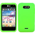 BasAcc Electric Green Case for LG MS770 Motion 4G