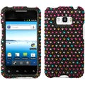 BasAcc Sprinkle Dots Diamante Case for LG LS696 Optimus Elite