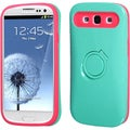 BasAcc Teal Green/ Hot Pink Back Case for Samsung� Galaxy S3 I9300
