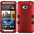 BasAcc Titanium Red/ Black TUFF Case for HTC One/ M7