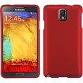 BasAcc Titanium Solid Red Case for Samsung 900A Galaxy Note 3