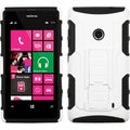 BasAcc White/ Black Armor Stand Case for Nokia Lumia 521