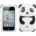 BasAcc White Panda/ Black Hands Case for Apple iPod touch 4
