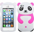 BasAcc White Panda/ Hot Pink Hands Case for Apple iPod touch 5