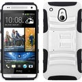 BasAcc White/ Black Case with Stand for HTC One Mini/ M4