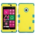 BasAcc Yellow/ Tropical Teal TUFF Case for Nokia Lumia 521
