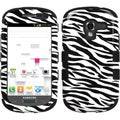 BasAcc Zebra Skin/ Black TUFF Case for Samsung T599 Galaxy Exhibit