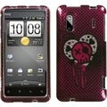 BasAcc I Heart Rock Sparkle Case for HTC EVO Design 4G