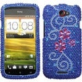 BasAcc Juicy Flower/ Diamante Case for HTC One S