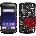 BasAcc Curve Heart/ Diamante Case for ZTE N910 Anthem 4G