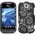 BasAcc Dark Wonderland/ Diamante Phone Case for HTC myTouch 4G Slide