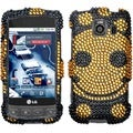 BasAcc Happy Face/ Diamond Case for LG LS670 Optimus S/ Optimus U