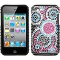 BasAcc Bubble/ Diamante Fusion Case for Apple iPod touch 4