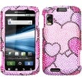 BasAcc Cloudy Hearts Case for Motorola MB860 Olympus/ Atrix 4G