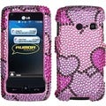 BasAcc Cloudy Hearts Case for LG LN510 Rumor Touch/ UN510 Banter Touch