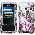 BasAcc Elegant Butterfly Case for LG Touch LN510 Rumor/ UN510 Banter